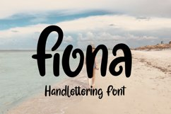 Fiona - Handlettering Font Product Image 1