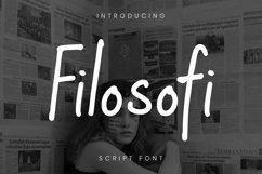 Web Font Filosofi Font Product Image 1