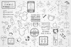Baby SVG Bundle with 43 Graphics illustrations for onesies. Product Image 5