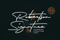 Robertson  Charming Signature Font Product Image 8