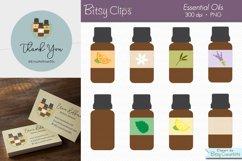 Essential Oil Clipart Digital Art Set Direct Sales Clipart Product Image 1