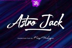 Astro Jack - Handwritten Font Product Image 1