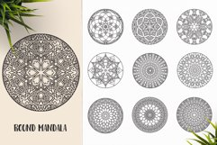 530 Vector Mandala Ornaments Bundle Product Image 27