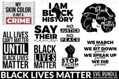 Black Lives Matter SVG Bundle Product Image 1