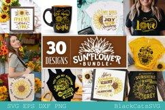 Sunflower SVG bundle 30 designs sunshine SVG bundle Product Image 2