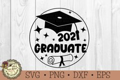 Graduation SVG Bundle-2021 Senior-Graduation Cap SVG Product Image 5