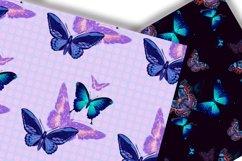 Butterflies Digital Paper.Seamless pattern. Product Image 3
