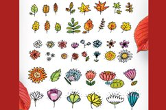 Autumn Cats - clip-art collection, patterns, frames Product Image 3