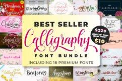 Best Seller Calligraphy Font Bundle Product Image 1