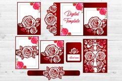 Roses wedding bundle svg Product Image 2