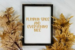 Leaves are Falling - A Cute Hand-Lettered Fall Font Product Image 4