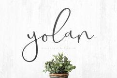 Yolan Unique Font Product Image 1
