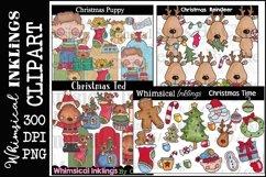 Sweet Christmas -Huge Christmas Clipart Bundle Product Image 6