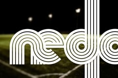 Nedo typeface cover page