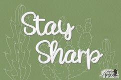 Happy Cactus - a cute handwritten script font Product Image 5