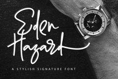 Eden Hazard - A Stylish Signature Font Product Image 1