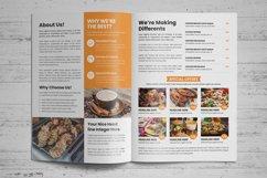 Food Menu Bifold-Trifold Brochure v2 Product Image 4