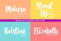 Wheslayne Script Product Image 5