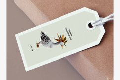 Geese and dried leaves set. Autumn inside. Product Image 3