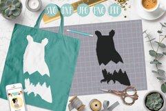 owl svg, mountain owl clipart, mountain, adventure explore Product Image 2