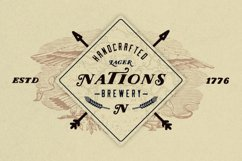 Nations - Hand Drawn Font Product Image 2