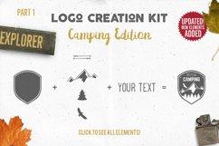 Adventure SVG Mega Bundle, Logo Creator Kit, Camping DXF Set Product Image 3