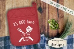 Grilling BBQ Themed Pot Holder Bundle - Fathers Day SVG Product Image 6