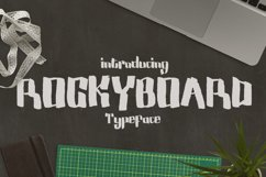 Rockyboard Font Product Image 1