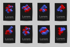 Template business cards Abstract Product Image 2