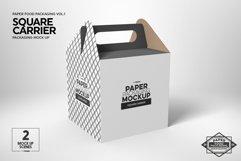 VOL.1 Food Box Packaging MockUps Product Image 5