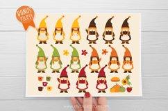 Scandinavian Fall Gnomes Clipart - Vector Clip Art & SVG Product Image 3