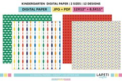 Colorful printable paper for children's parties Product Image 6