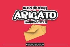 Arigato Handwritten Font Product Image 1