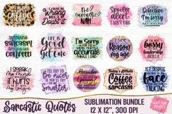 Sarcastic Quotes Sublimation Bundle, Funny Quotes Bundle Product Image 1