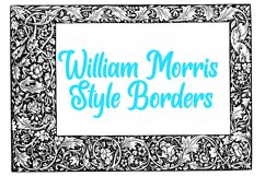 10 William Morris Style Border Lines Illustration Collection Product Image 1