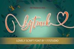 Bqtrack Calligraphy Script Font Product Image 1