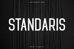 Standaris Font Family Sans Serif Product Image 1
