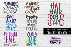 Hair Don't Care Bundle of 7 SVG EPS DXF PNG Product Image 1