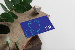 Doctor Minimalistic Business Card Template Product Image 2