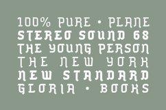 Blackhead Typeface | Font Product Image 4