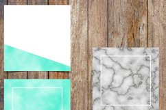 Marble and Aqua Foil Instagram Template Pack Product Image 3