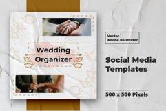 Wedding Instagram Feed Vector Product Image 2