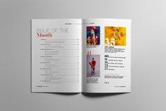 Fashion Magazine Layout Template Product Image 2