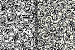 Automotive Graphics Doodle Patterns Product Image 3
