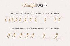 Beautiful Roses Duo Font Product Image 5