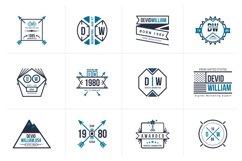 Retro Badge Logo Collection Bundle Product Image 5