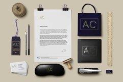 LAVENDER-TIME multicolor font Product Image 4