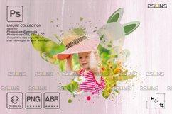 Easter Watercolor overlay & Photoshop overlay Product Image 3
