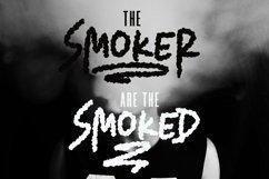Web Font Smoker - Rough Smoked Font Product Image 6