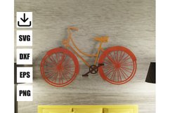 RETRO BIKE for wall art Product Image 1
